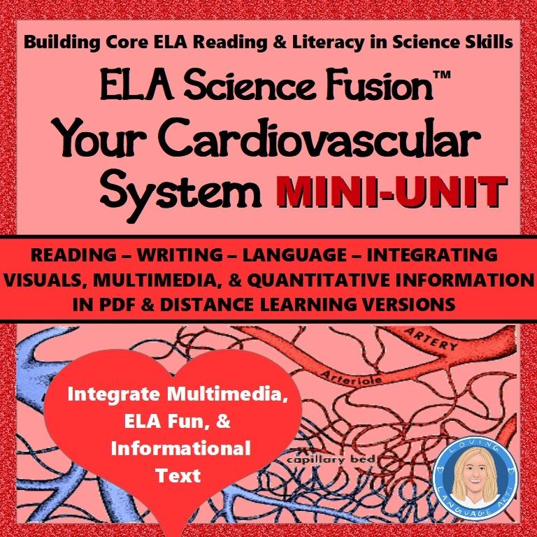 ELA Science Fusion Unit Cardiovascular System